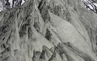 <p>Mountain Valley, 2012 / Ink, acrylic, and drypoint on paper / 9 x 12 inches</p>