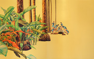 <p><em>Good Morning Sunshine,</em> 2006, 60 x 120 inches, colored pencil and acrylic on panel</p>