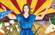 <p>Arizona Timeline Mural 1912-1945 </p>