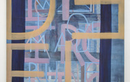 <p>It's Ironic</p> <p>oil and spray paint on canvas</p> <p>6'X5'</p> <p>2014</p>