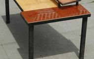 """<p style=""""text-align: center;""""><strong>TWO TIER COFFEE TABLE / SOLD</strong></p>"""