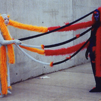 "<p><span id=""caption"" style=""display: inline;""><span id=""titleText"">I am You while You are Me, 2002. Costume and performance collaboration between Rachel Meuler and Young Jean Lee. &nbsp;<span id=""caption"" style=""display: inline;""><span id=""titleText""><span id=""caption"" style=""display: inline;""><span id=""titleText""><span id=""caption"" style=""display: inline;""><span id=""titleText"">Photo credits Hiro Sato.</span></span></span></span></span></span> </span></span></p>"