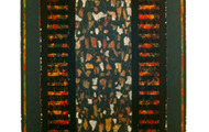 "<p><strong>GRANITE INCANTATION &nbsp; &nbsp;</strong>1990-97 &nbsp; 66"" x 24""</p>"