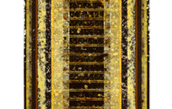 """<p><strong>ANCIENT HARP  </strong>1992  48"""" x 19""""</p>"""