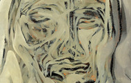 <p><em>Growth Head</em>, 1964, Oil on canvas, 11.75 X 15.75 inches.</p>