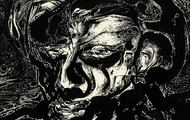 <p><em>Head of A Lonely Man</em>, 1964, Ink on illustration board, 14.5 X 10.5 inches.</p>