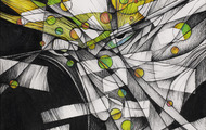 <p><em>Hidden Memories</em>, 2012, Ebony pencil, prismacolor & turp on paper, 8.5 X 9 3/8 inches.</p>