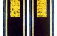 "<p><strong>EAST WINDOWS</strong>    1989   2@ 48"" x 19"" ea.</p>"