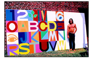 <p><strong>Unfinished mural</strong> 7' x 18' 1968-69 acrylic on canvas</p> <p>(For Tampa, Florida Medical Center; Children's Wing)</p>