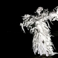 "<p>The White Hawk paper costume     Spirit Dance performed by Katharine Leigh Simpson     ""From the Ashes- She Arose""     Collaboration with Mark Hughes     Photography: Julie Huffman © 2015     juliehuffman.com</p>"