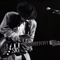 """<p style=""""text-align: center;"""">Stevie Ray Vaughan</p> <p style=""""text-align: center;"""">18"""" x 24""""</p> <p style=""""text-align: center;"""">Oil on Wood panel</p> <p style=""""text-align: center;"""">(private collection)</p>"""