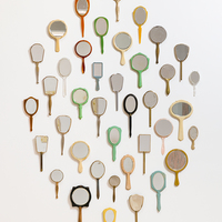 "<p style=""text-align: center;"">Genevieve Gaignard<br /><em>Selfie Stick,</em> 2017<br />Found mirrors<br />Dimensions variable</p>