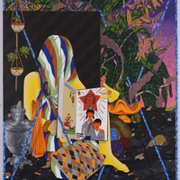 <p><span>Young Pioneers, 2017, a</span>crylic on canvas, 5&rsquo;x4&rsquo;</p> <p><span>&nbsp;</span></p>