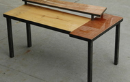 """<p style=""""text-align: center;""""><strong>TWO TIER COFFEE TABLE&nbsp; / SOLD<br /></strong></p>"""