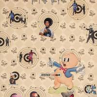 <p>Genevieve Gaignard<br /><em>Black Watch</em>, 2018<br />Collage on Panel<br />36 x 24 inches</p>