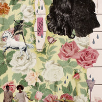 <p>Genevieve Gaignard<br /><em>Rosa</em>, 2018<br />Collage on Panel<br />24 x 18 inches</p>
