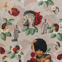 <p>Genevieve Gaignard<br /><em>She's So Articulate</em>, 2018<br />Collage on Panel<br />30 x 20 inches</p>