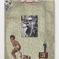 <p>Genevieve Gaignard<br /><em>Don't Be A Paleface, 2019&nbsp;</em><br />Mixed Media on Panel<br />66 x 48 x 4 inches</p>