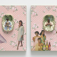 <p>Genevieve Gaignard<br /><em>Tell Me Something Good, 2019&nbsp;</em><br />Mixed Media on Panel<br />20 x 16 x 2.5 inches each</p>